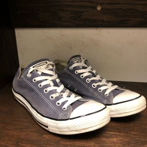 Converse Shoes - Navy Converse All Stars Size 10